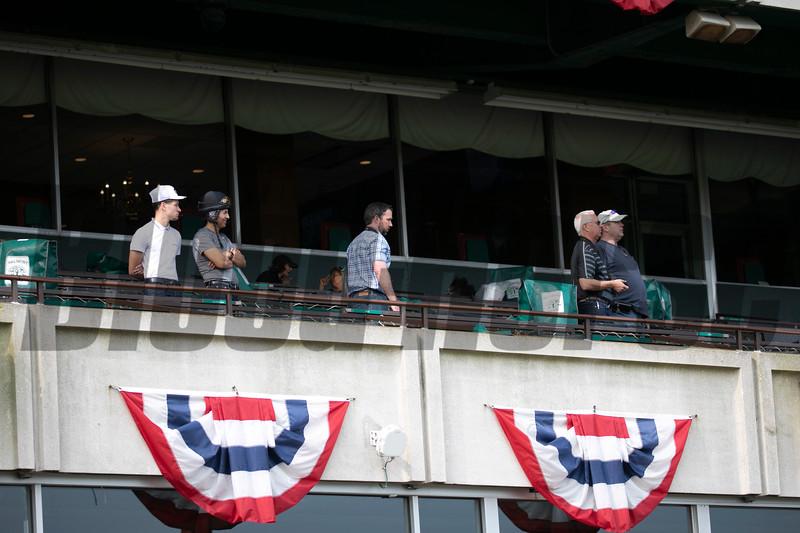 Todd Pletcher - Belmont Park, June 1, 2019<br /> Coglianese Photos/Janet Garaguso
