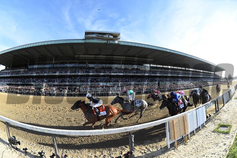 Sir Winston wins the 2019 Belmont Stakes<br /> Coglianese Photos