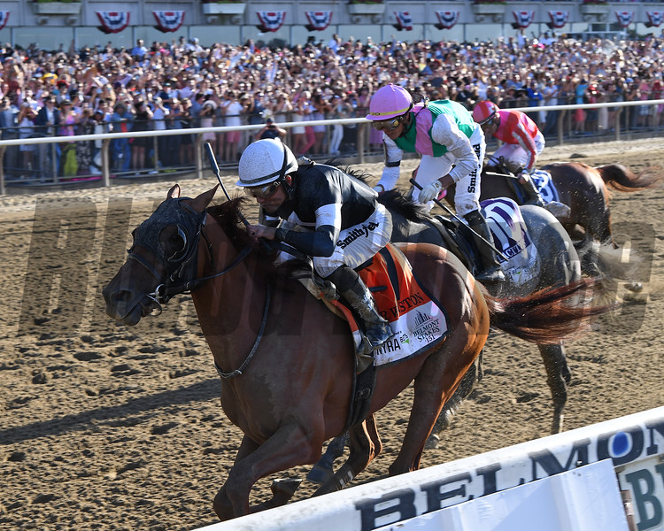 Sir Winston wins the 2019 Belmont Stakes<br /> Coglianese Photos/Chelsea Durand