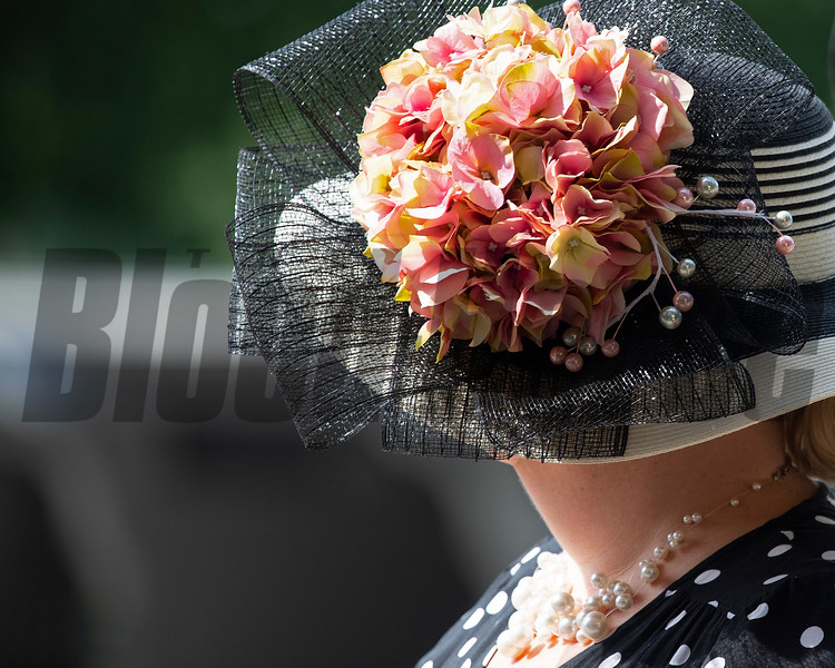 Fashion, hat on June<br /> 8, 2019 in Elmont,  NY.