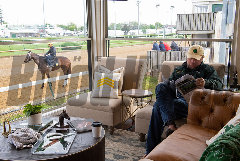 Morning scenes at Churchill Downs during Derby week, April 29, 2019 in Louisville,  Ky. Photo: Anne M. Eberhardt