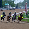 r-l, Country House, Tacitus, Workmate Souper Courage, and Win Win Win. Morning scenes at Churchill Downs during Derby week 2019  April 28, 2019 in Louisville,  Ky.