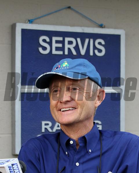 Jason Servis at Churchill Downs on May 1, 2019. Photo By: Chad B. Harmon