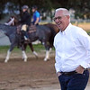 Todd Pletcher at Churchill Downs on May 1, 2019. Photo By: Chad B. Harmon