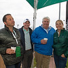 l-r, David Ingordo, Chip McGaughey, Mike Kline, Jill McCully at 2019 Bluegrass Breakfast at Churchill Downs Tuesday, April 30, 2019. Photo: Anne M. Eberhardt