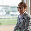 Katsumi Yoshizawa at 2019 Bluegrass Breakfast Tent at Churchill Downs Tuesday, April 30, 2019. Photo: Anne M. Eberhardt