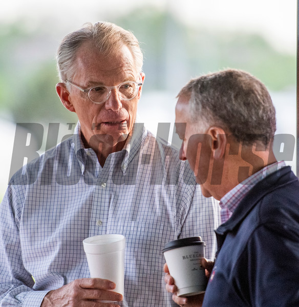 CDI Exec in the Keeneland Tent at Churchill Downs Wednesday May 1, 2019 in Louisville, KY.<br /> Photo by Skip Dickstein