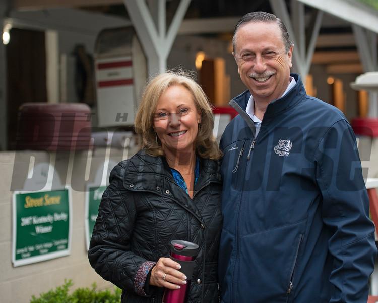 Kathy and Randy Block - Churchill Downs - 042819. Photo: Anne M. Eberhardt