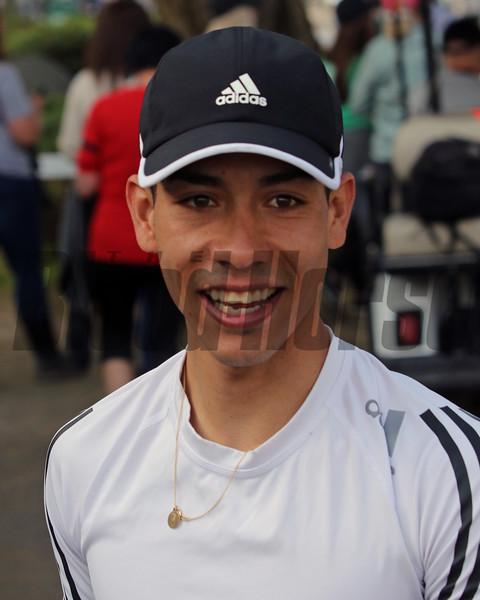 Jose Ortiz at Churchill Downs on May 2, 2019. Photo By: Chad B. Harmon
