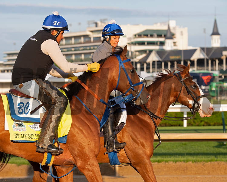By My Standards. Morning scenes at Churchill Downs during Derby week 2019  April 27, 2019 in Louisville,  Ky. Photo: Anne M. Eberhardt