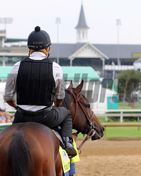 Game Winner at Churchill Downs on May 1, 2019. Photo By: Chad B. Harmon