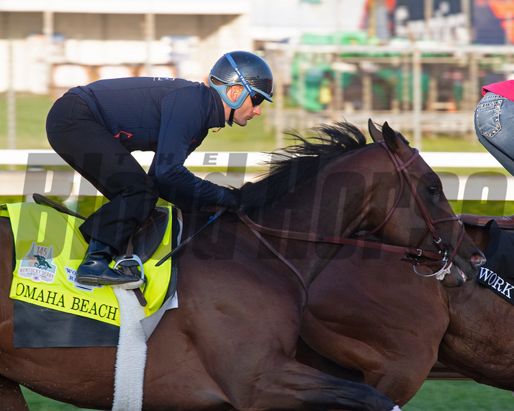 Omaha Beach. Morning scenes at Churchill Downs during Derby week 2019  April 27, 2019 in Louisville,  Ky. Photo: Anne M. Eberhardt