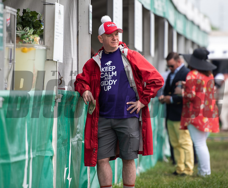 Kentucky Derby Day Scene