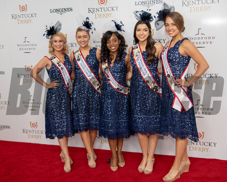 2019 Kentucky Derby Princesses