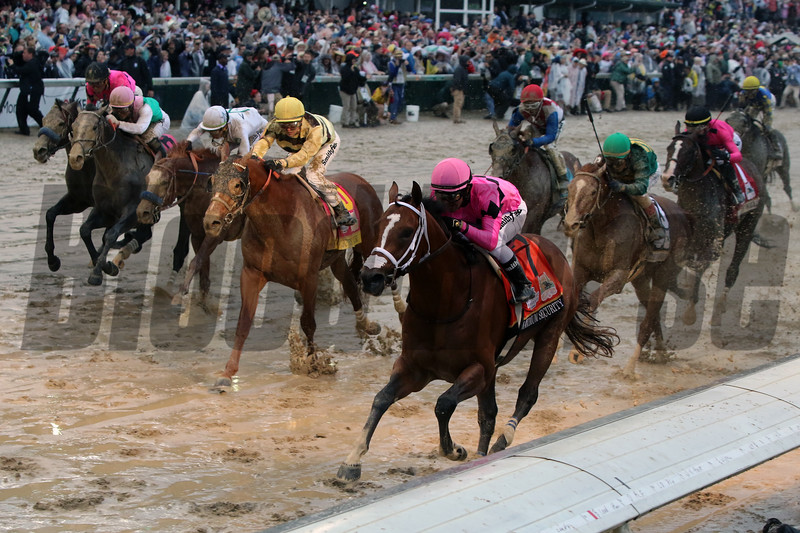 Country House with Flavien Prat win the 145th Running of the Kentucky Derby at Churchill Downs on May 4, 2019. Photo By: Chad B. Harmon