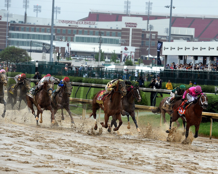 Country House wins the Kentucky Derby Saturday, May 5, 2019 at Churchill Downs. Photo: Dave Harmon