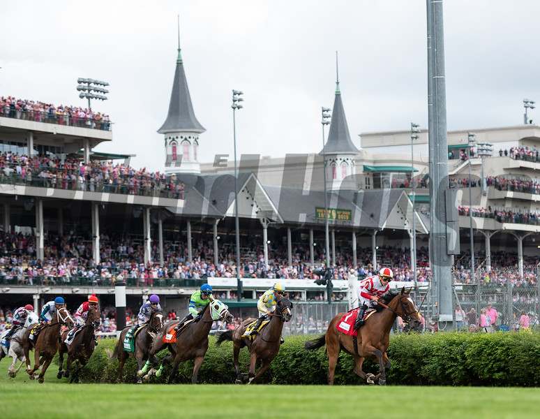 The Edgewood field under the Twinspires