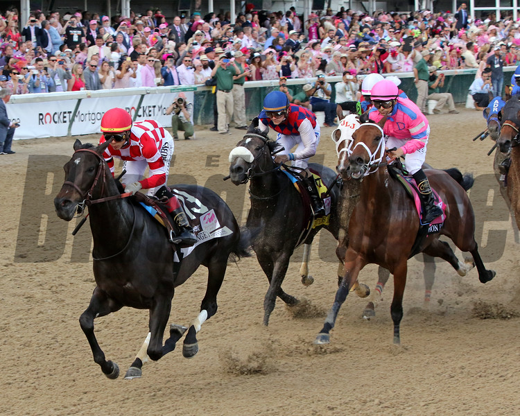 Serengeti Empress wins the Kentucky Oaks Friday, May 3, 2019 at Churchill Downs. Photo: Anne M. Eberhardt