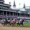 Kentucky Oaks under the Twinspires