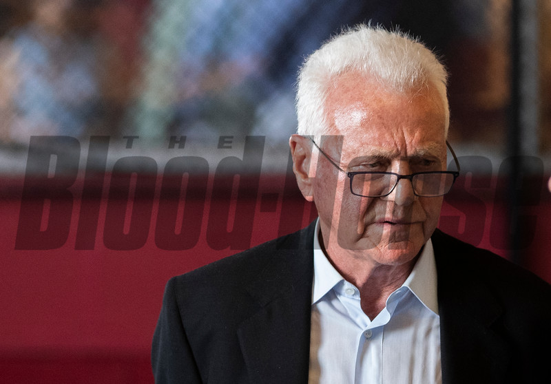 Frank Stronach is in attendance on Preakness Day at the Pimlico Race Course Saturday May 18, 2019 in Baltimore, MD Photo by Skip Dickstein.