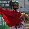 Velazquez. Gamine with John Velazquez wins Acorn Stakes (G1) at Belmont Park.