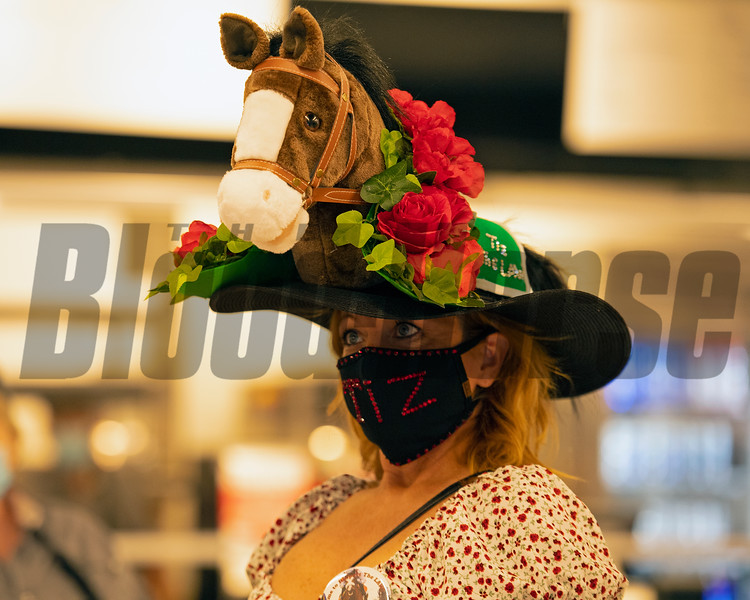 Scenes at Churchill Downs, Louisville, KY on September 5, 2020.