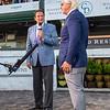 Bob Baffert after Authentic with John Velazquez wins the Kentucky Derby (G1) at Churchill Downs, Louisville, KY on September 5, 2020.