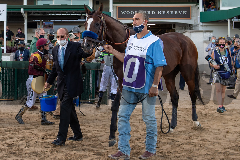 Thousand Words was scratched from the Kentucky Derby (G1) at Churchill Downs, Louisville, KY on September 5, 2020.