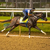Max Player at Churchill Downs Monday, Aug. 31, 2020. Photo: Anne M. Eberhardt
