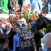 Owners and Trainers of Medina Spirit celebrate with Jockey John R. Velazquez after their win in the Kentucky Derby (G1) at Churchill Downs, Saturday, May 1, 2021 in Louisville, KY.  Photo by Skip Dickstein