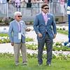 (L-R) Craig Bandoroff and Conrad Bandoroff at Churchill Downs on April 30, 2021.