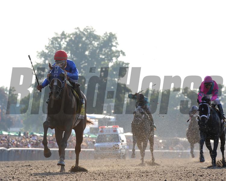 Summer Bird wins the 2009 Belmont Stakes<br /> Coglianese Photos