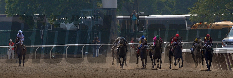 Da'Tara won the Belmont Stakes with Alan Garcia as the jockey, and trainer by Nick Zito.