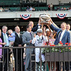 Drosselmeyer wins the 2010 Belmont Stakes<br /> Coglianese Photos