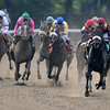 Da' Tara wins the 2008 Belmont Stakes<br /> Adam Coglianese