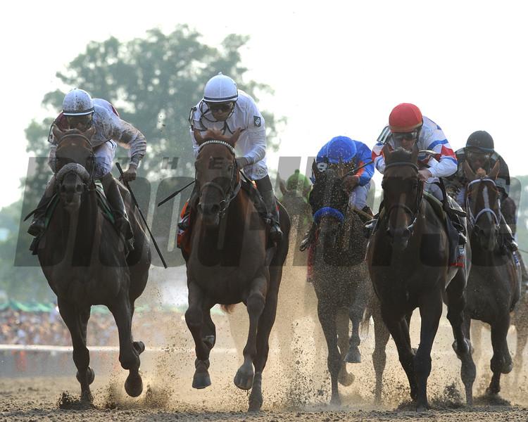 Drosselmeyer wins the 2010 Belmont Stakes<br /> Coglianese Photos