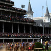 2010 Kentucky Derby 1st Turn w/Twin Spires
