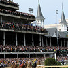 Super Saver with Calvin Borel wins the Kentucky Derby (gr. I)<br /> Derby day at Churchill Downs near Louisville, Ky. on May 1, 2010.<br /> Photo by: Chad Harmon