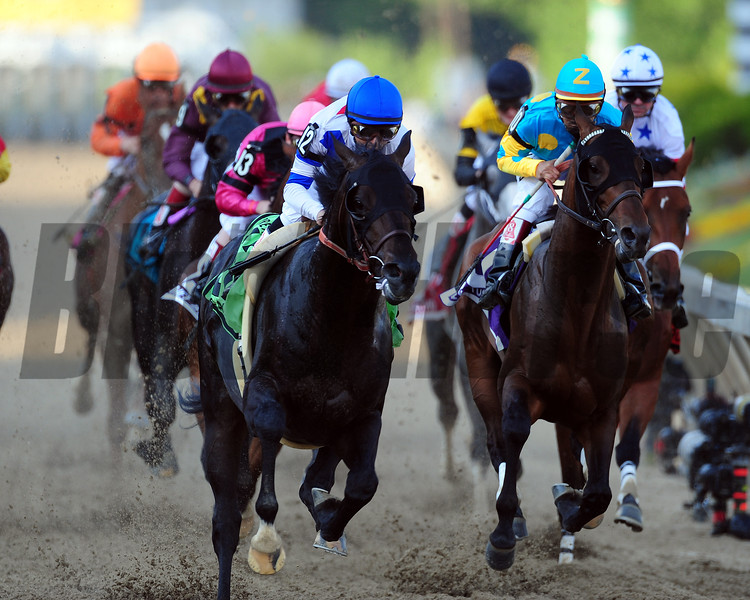 Big Brown wins the 2008 Preakness Stakes<br /> Jeffrey Snyder