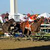 Lookin At Lucky with Martin Garcia wins the Preakness Stakes (gr. I)<br /> at Pimlico on May 15, 2010,  in Baltimore, Md.<br /> Photo by Anne M. Eberhardt