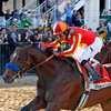 Lookin At Lucky with Martin Garcia wins the Preakness on May 15, 2010, in Baltimore, Md.<br /> Photo by: David Young