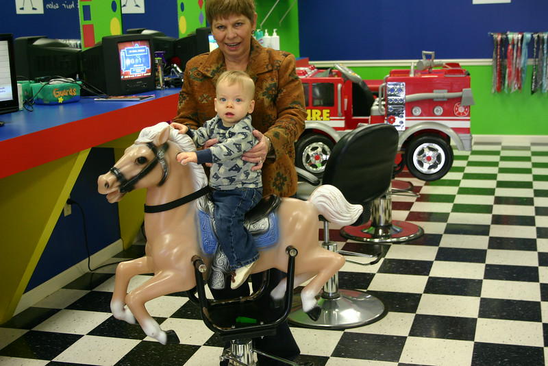 Miles on the horse
