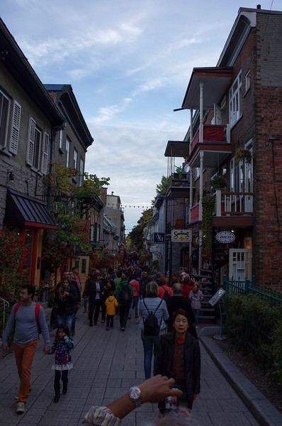 Lower Old Town. Supposedly the narrowest street in North America.