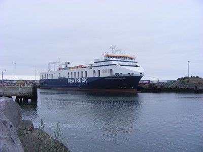 MS Seatruck Progress, Dublin Port, 14-7-2013