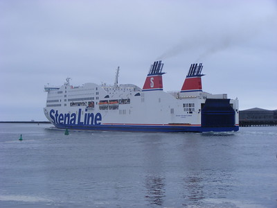 Stena Adventurer, Dublin Port, 14-7-2013