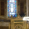 Off-center Mihrab (correcting for fact that altar originally faced Jerusalem)