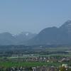 Alps over Salzburg