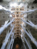 La Sagrada Familia:  Parabolic arches instead of flying buttresses