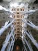 La Sagrada Familia:  Parabolic arches instead of flying buttresses