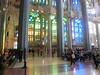 La Sagrada Familia:  Interior (designed to hold 8,000)
